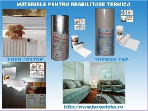 Produse de interior  pentru reabilitare termica