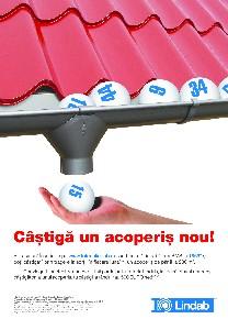 Castiga un acoperis nou cu Loteria Lindab!