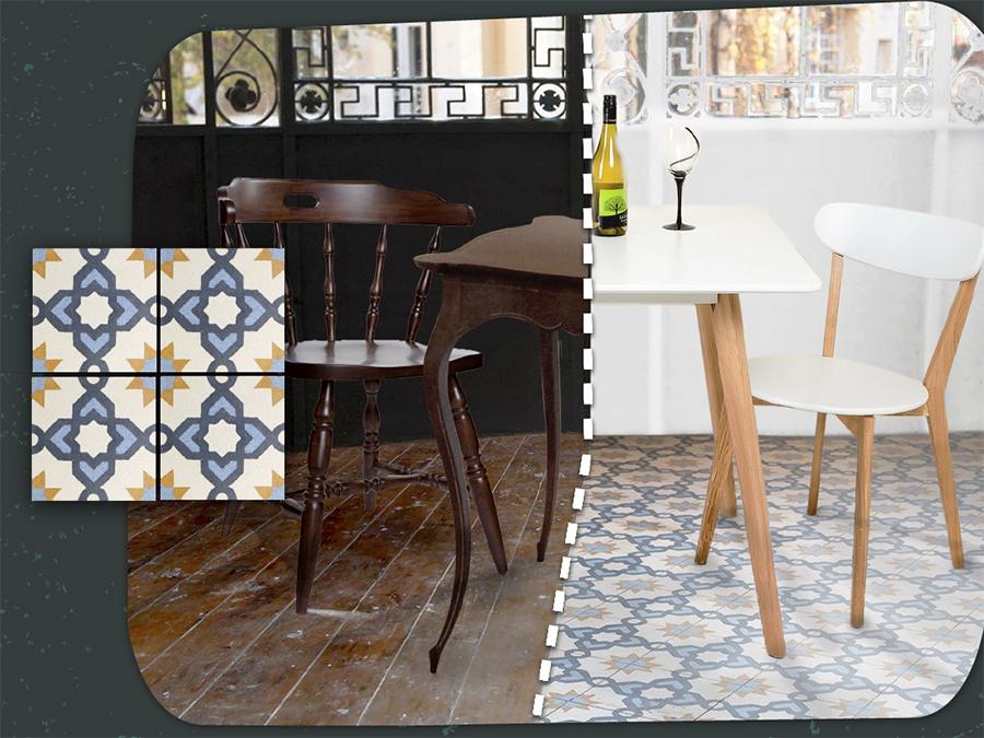 Infografie: cum sa folosesti placile decorative colorate terrazzo in amenajarea ta?