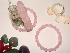 Bratari cuart roz (pietre semipretioase)