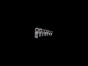 Papuc pentru conductor 35mm cu gaura de 12