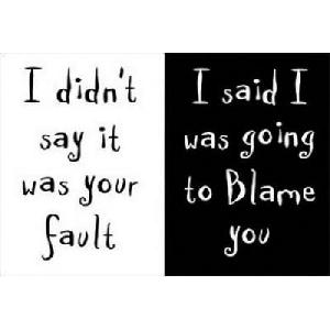 Your fault (45 x 30 cm)