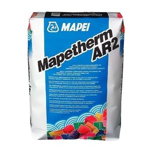 Adeziv si masa de spaclu pentru vata minerala si polistiren Mapei 25kg/sac Mapetherm AR2