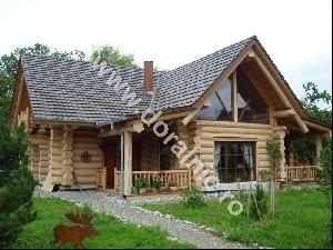 Cabana din busteni