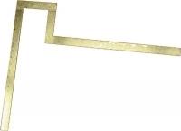 Echer flansa 500x500 mm- flansa 125x70