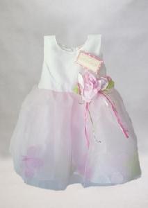 Rochita de ocazie fetite cu trandafir roz - BBN2049