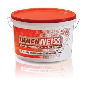Vopsea lavabila pentru exterior Innenweiss 2.5L