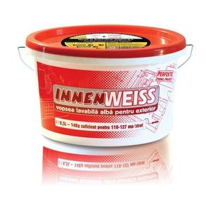 Vopsea lavabila pentru exterior Innenweiss 8.5L