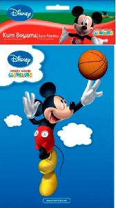 Plansa pictura nisip mica Disney, Mickey Mouse