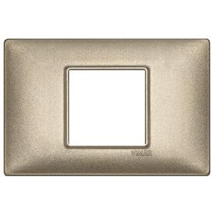 Rama ornament 2 module centrale Metal bronz metalizat