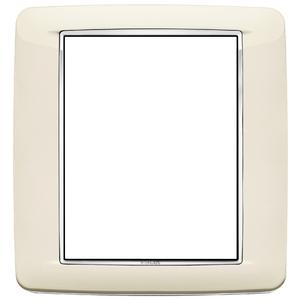 Rama ornament 8 module Bright Antique White Eikon Chrome