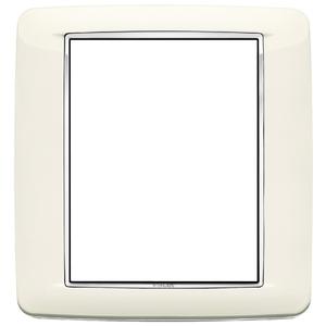 Rama ornament 8 module Bright Arctic White Eikon Chrome
