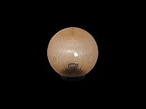 Corp de iluminat glob fumuriu 30CM+soclu