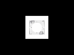 Cadru de montaj aparent, pentru rama simpla, 1 post, SEDNA SCHNEIDER, alb