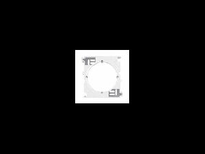 Cadre de montaj aparent pentru rame multiple, SEDNA SCHNEIDER, alb
