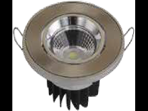 LED Spot 5W COB, rotund cu schimbare unghi, SN alb, VT-1105RD
