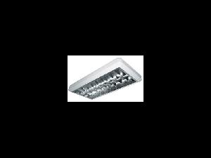 Plafoniera 2x18W ST echipat cu balast Electrostart