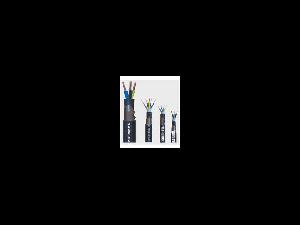 Cablu rigid curpu cu armare din benzi de otel 3x2.5 CYABY(F) 3x2.5