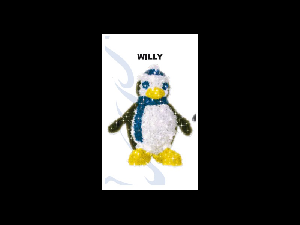 PINGUIN WILLY    lxh=0,42x0,81m, putere 16,4 W