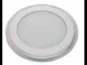 Panel LED spot din sticla, rotund cu schimbare  de culoare  3000K / 4500 K / 6000 K- 12W, VT-1204G-RD
