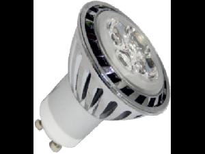 Spot LED, 3.8W/GU10, verde, TG-2401.3234