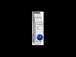 Lampa modulara simpla cu LED, AMPARO, albastru, 230V-AC