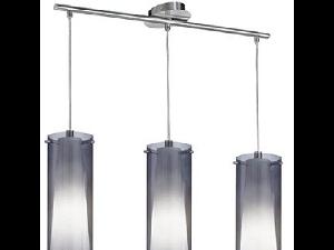 Lampa suspendata Pinto Nero,3x60w