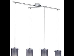 Lampa suspendata Pinto Nero,4x60w