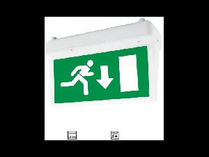 Lampa emergenta LED 2W ne permanenta autonomie 3 ore Tavan autocolant Sus