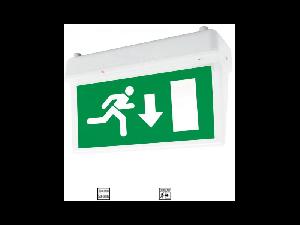 Lampa emergenta LED 2W ne permanenta autonomie 3 ore Tavan autocolant Jos