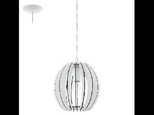 Lampa suspendata Cossano,1x40w,E14,D190,alb