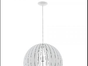 Lampa suspendata Cossano,1x60w,E27,D500,alb