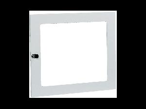 usa transparenta pentru carcasa cu 96 de module de dimensiuni 800x740x140 mm
