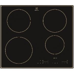 Plita incorporabila rustica Electrolux EHH6340IOB, Inductie, 4 zone de gatit, Control touch, Booster, 60 cm, Negru