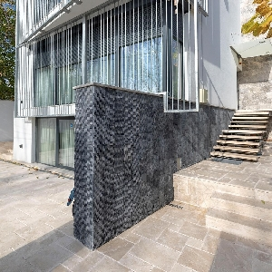 Marmura Catania Black Nihaki 20 x 30 x 2 cm