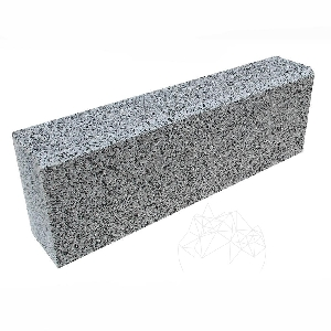 Bordura Granit Leopard White 10 x 15 x 50 cm (debitata + bizot 1L)