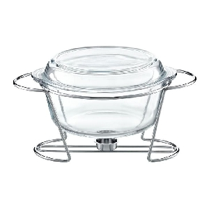 Chafing Dish Rotund 4L Saule