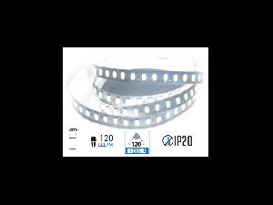 Banda LED - 120 LED-uri/m, alb rece, non-rezistent la apa, 18W/12V