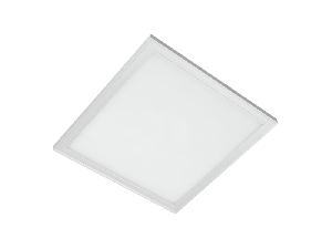 LED PANEL 45W 4000-4300K 595X595mm DIMABIL CADRU ALB IP44+KIT EMERGENTA