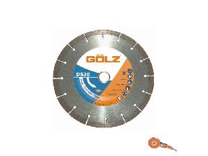 Disc diamantat universal 230mm GOLZ DS 30-230