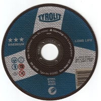 Disc abraziv de debitat metal Tyrolit Premium Long Life 115x1x22,23