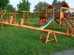 Mobilier pentru gradina -  Balansoar cu 4 locuri pentru copii