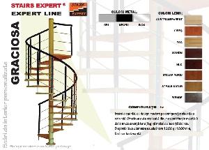 GRACIOSA - scari de interior, scari autoportante