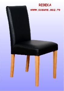 Scaun tapitat din lemn masiv Rebeka
