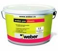 Tencuiala decorativa acrilica Weber grupa 1 de culoare