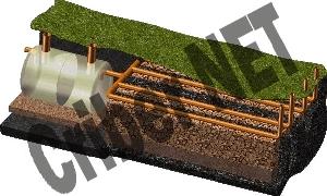 Fose septice ecologice, fose septice tricompartimentate fose septice echipate complet
