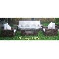 Set mobilier exotic din zambila de apa