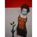 Pictura pe panza  acrilic  Iulia