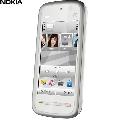 Telefon mobil Nokia 5228 White-Silver