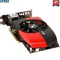 Placa video ATI HD6850 MSI R6850-PM2D1GD5/OC  PCI-E  1 GB  256bit